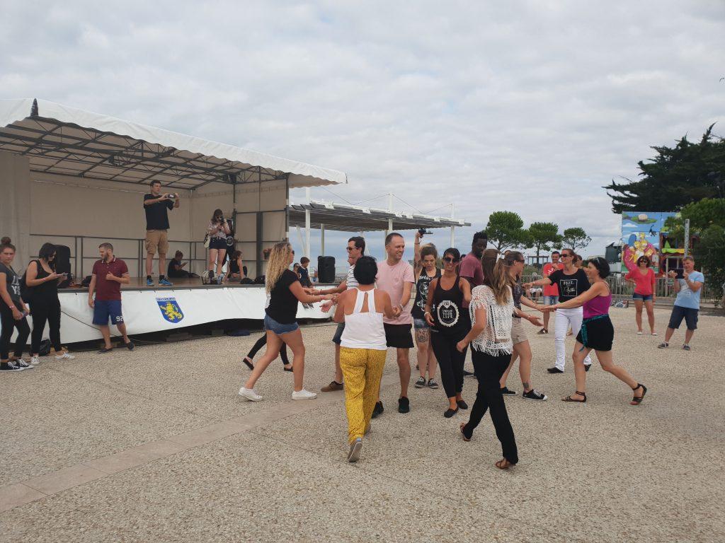 SWOB 2018 - Rueda de wcs sur l'esplanade